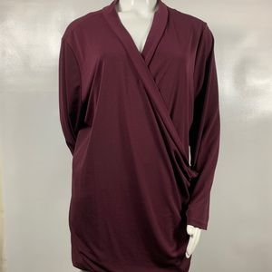 3FOR$20 APT. 9 Purple Top Size: 3X